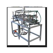 Biegemaschine zum Abkanten von Kunststoffplatten