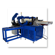 Saddle milling welding machine for outgoing pipe flanges 90°
