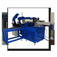 Sattel-Fräs-Schweißmaschine für Rohrabgänge 90°