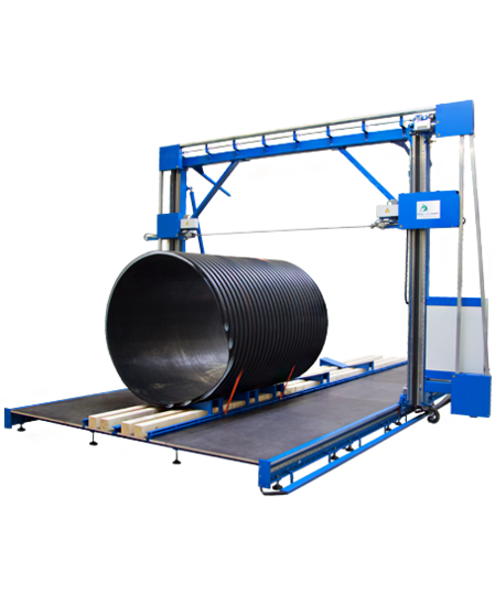 GRBSM - Sawing machine for plastics and large pipe diameters