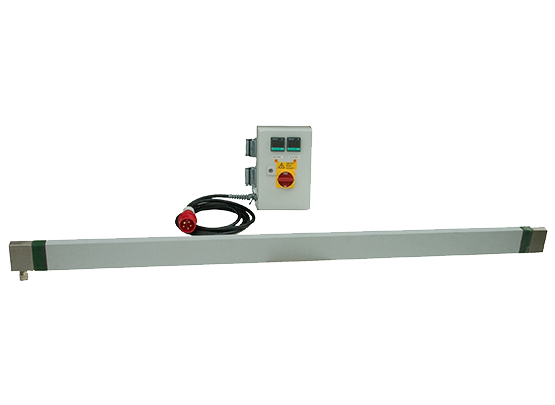 Heating bar for bending or butt welding