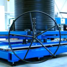 Schachtbearbeitungsmaschine Handrad