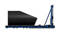 Großrohr Bandsäge Schnittbereich 67,5° / 22,5°