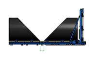 Großrohr Bandsäge Schnittbereich Standard